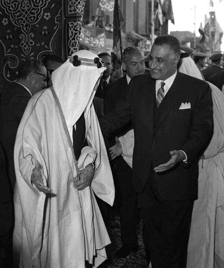 ال الملك سعود فيصل مع مع الملك فيصل ال سعود Egyptian History Arabian Art King Faisal