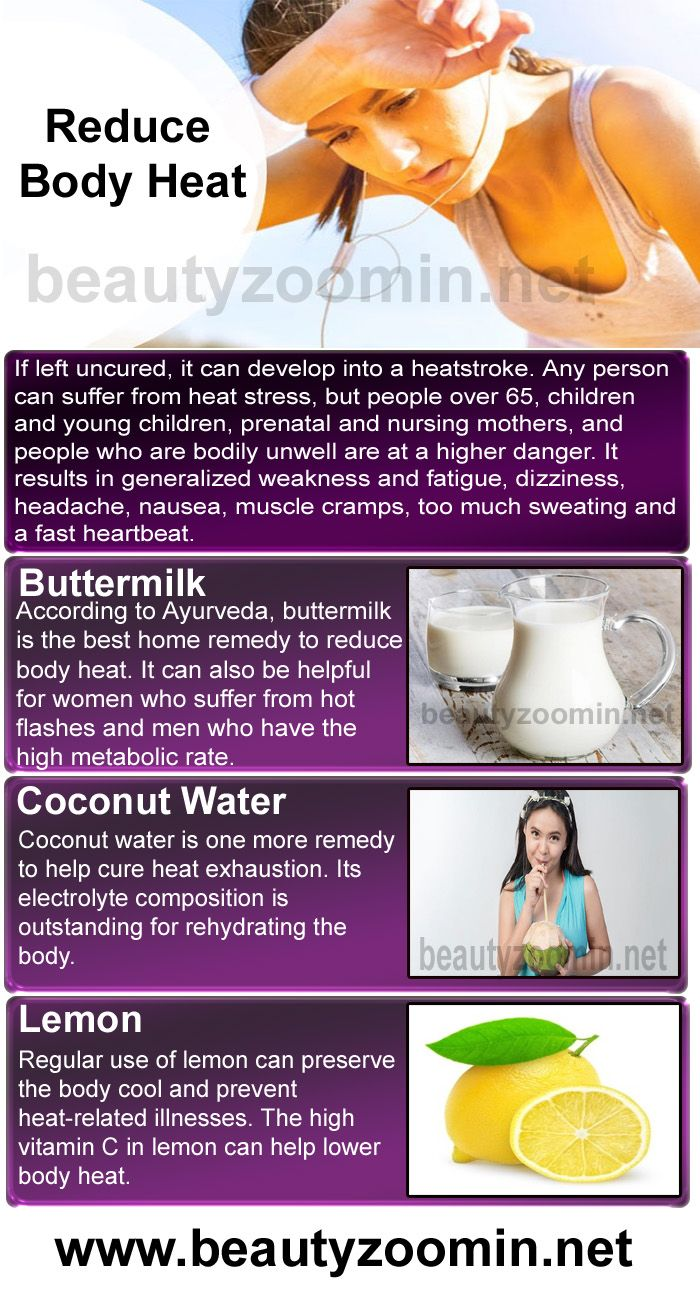 How To Reduce Body Heat Using Natural Remedies | Healthy Tips+