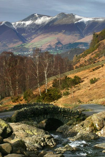 ✯ View from Ashness Bridge - Cumbria, UK
