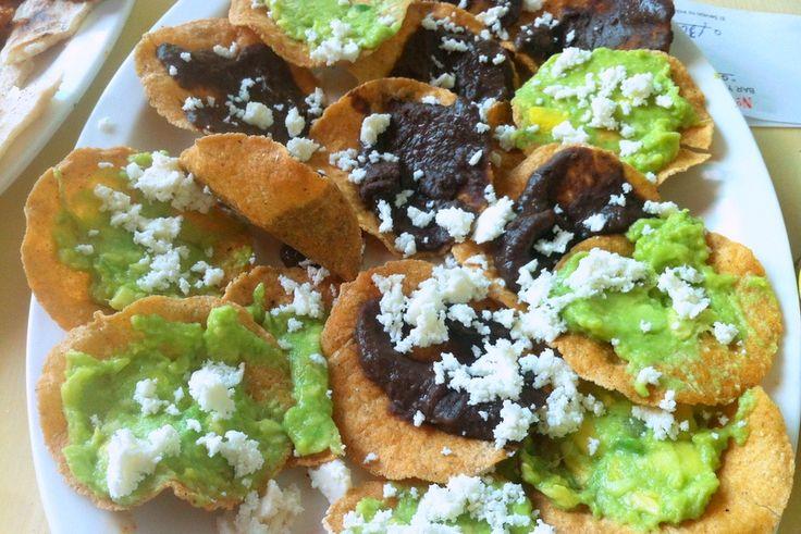 Auténtica comida guatemalteca