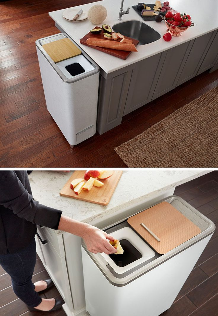 This easy indoor compost system turns food scraps into fertilizer in 24 hours