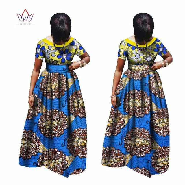 plus size women clothing Maxi Dress Dashiki short african dresses for women in african clothing party dress 4xl other WY995