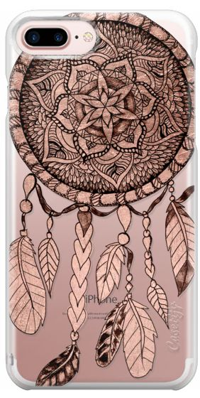 Casetify Protective iPhone 7 Plus Case and iPhone 7 Cases. Other Dreamcatcher iPhone Covers - Dreamcatcher And Feathers Illustration by Girly Trend | Casetify