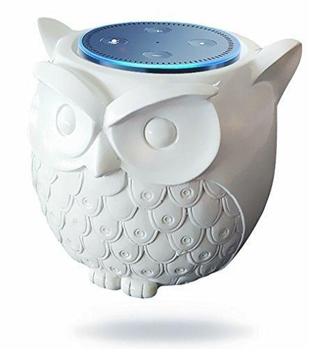 BFF For Alexa- Owl Statue Crafted Guard Station For Amazon Echo Dot 2nd And 1st generation SpeakerJam Classic Speaker