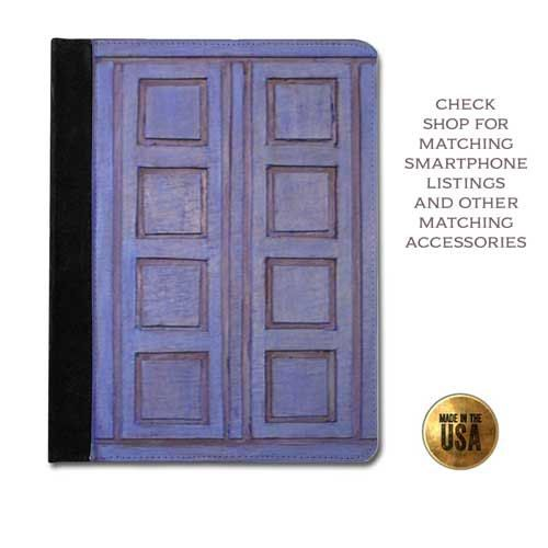 Doctor Who inspired Tardis River Song's Journal Diary handbook protective tablet case (ipad 2 3 4, air, mini, Kindle Fire, paperwhite)