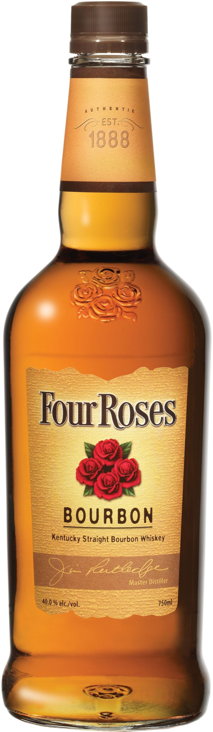 Four Roses Yellow Label Kentucky Straight Bourbon Whiskey   @Caskers