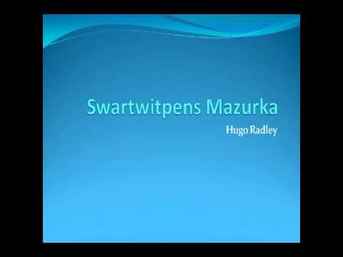 Boeremusiek - Swartwitpens mazurka - YouTube