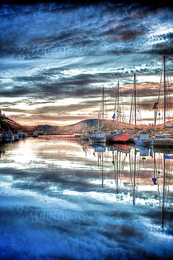 """""""Ios Marina""""Greece, photo by Tony Rappa."""