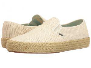 Vans Slip-On ESP ((Mesh) Marshmallow) Women's Slip on  Shoes