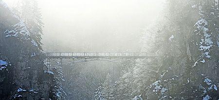 The Marienbrucke In Winter Neuschwanstein Castle Tourist Info Tourist
