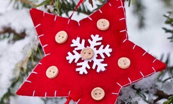 Decorazioni natalizie in feltro fai da te, 5 idee da copiare   La seconda casa non si scorda mai