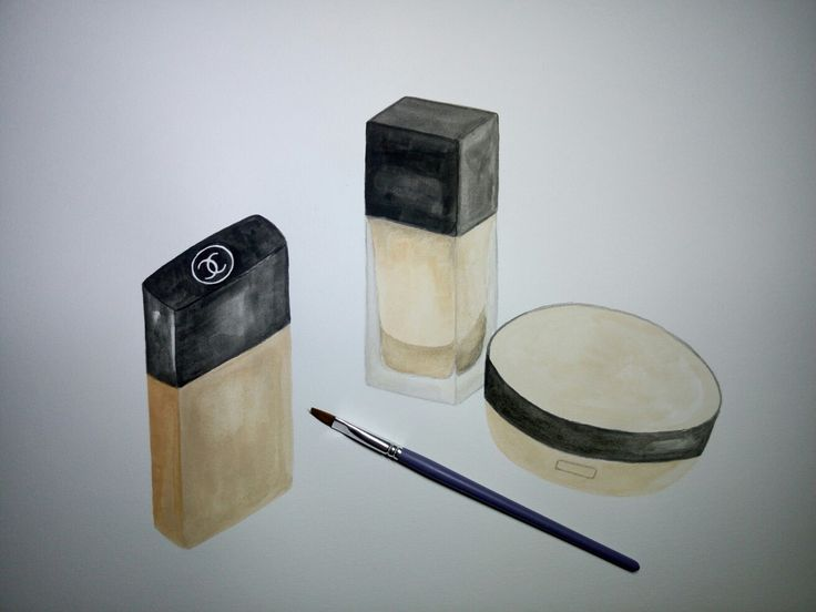 Watercolour drawing: foundations. (process)