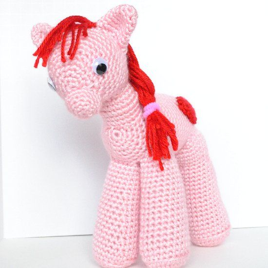 Amigurumi Pony : Amigurumi My Little Pony - FREE Crochet Pattern / Tutorial ...