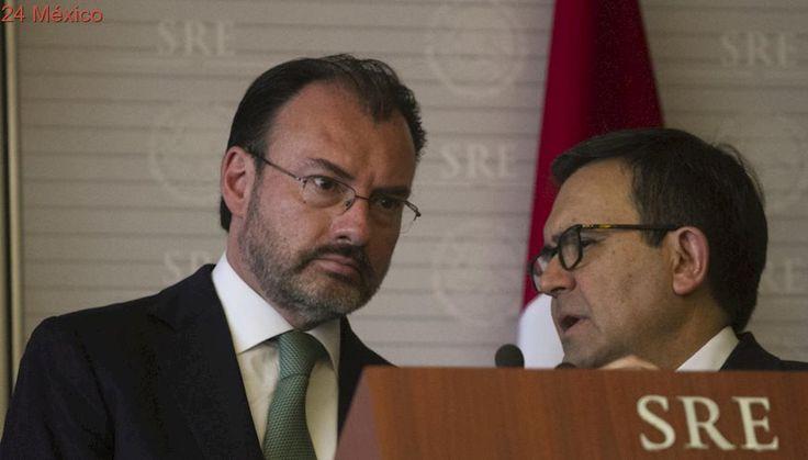 Luis Videgaray e Ildefonso Guajardo viajan a Washington