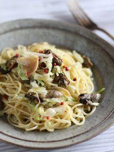 牡蠣とキャベツのペペロンチーノ by 星野奈々子   レシピサイト「Nadia ...