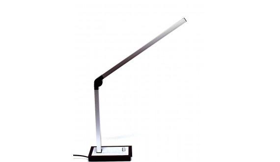 Riser Table Lamp-LED-Aluminium- Silver 220*330*350