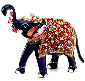 Embellished Elephant - a royal wedding favour