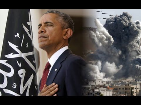 Obama Gives ISIS Air Support To Fight Assad - YouTube