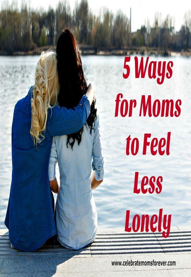 Meet lonely moms
