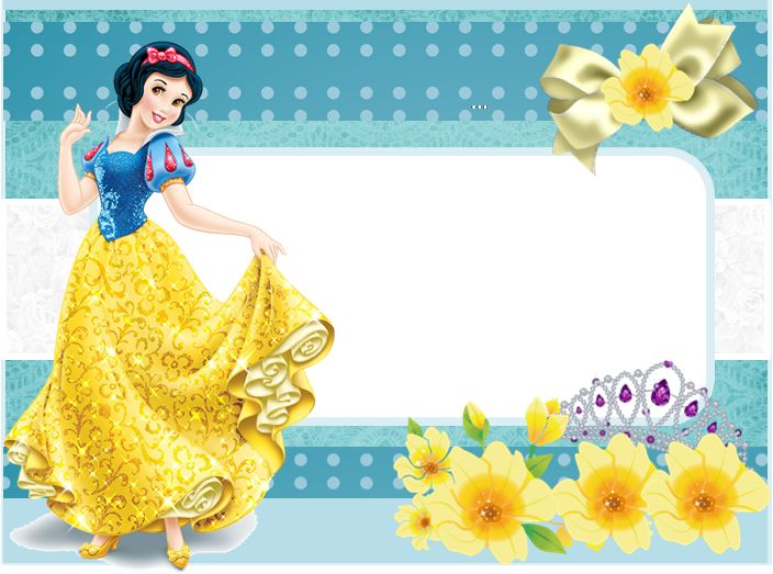 Snow White Free Printable Invitations Cards Or Photo