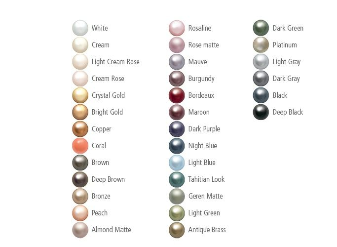 Pearl Color Meaning Google Search Cultured Pearl