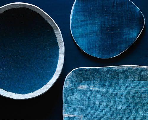 blues: Blue Roomindigo, Color Blue, Michele Michael, Indigo Blue, Blue Ceramics, Elephants Ceramics, Deep Blue, Blue Indigo, Blue Hue