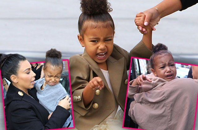 EXCLUSIVE Just Like Daddy! North West Throwing Tantrums Over New Brother Saint