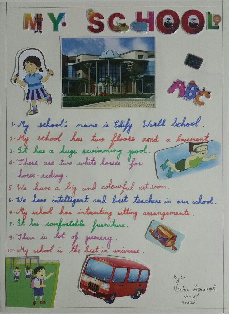 #MySchool #10lines #BestSchool #class2