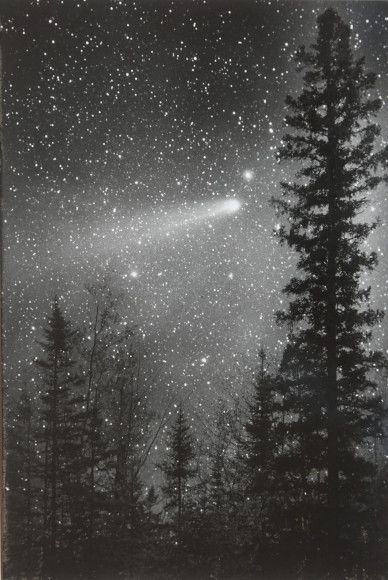 Halleys Comet, as seen in May 1986. Credit and copyright: Bob King.