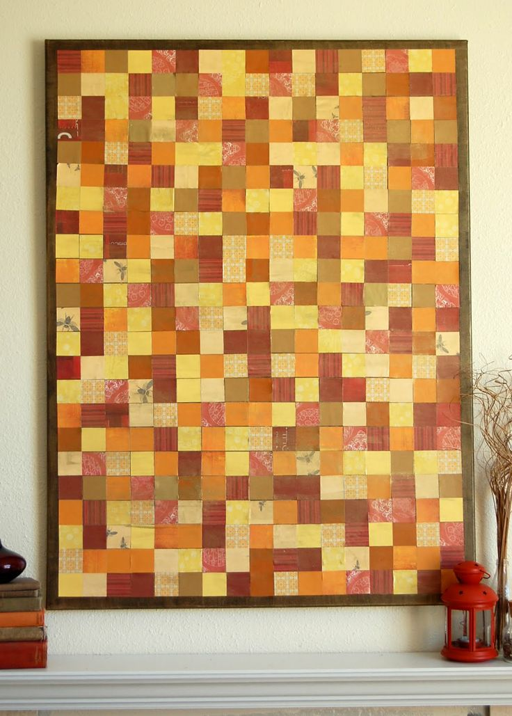 how to make a mosaic out of paper