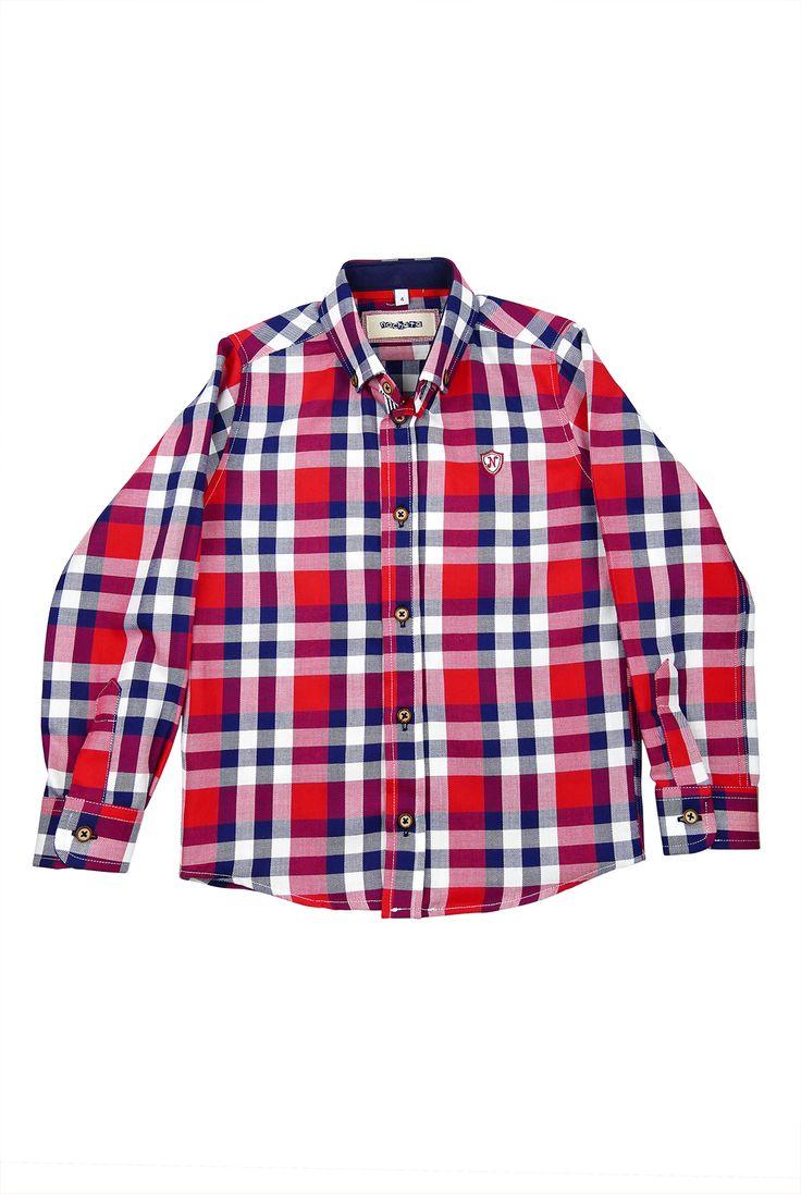 Camisa de cuadros Nachete