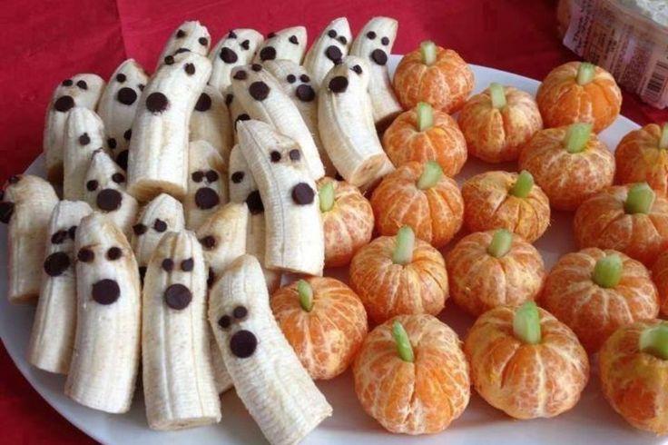 Bananen-Geister und Mandarinen-Kürbisse