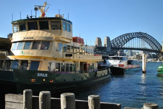 Sydney ferries - spend the day hopping on and off the ferries