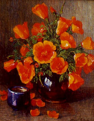 Alice Chittendon California Poppies Late 19th - early 20th century