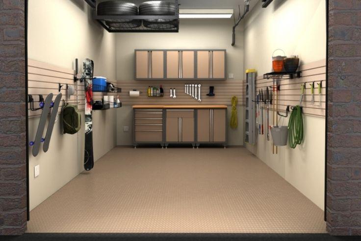 One car garage organization