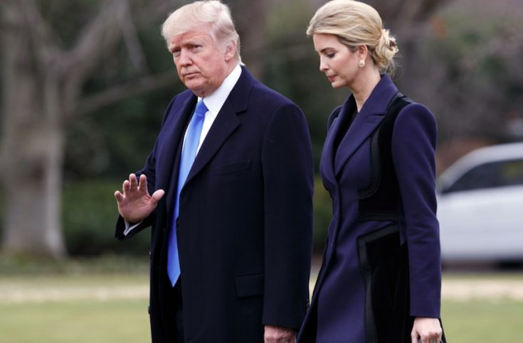 """Donald Trump's daughter Ivanka influenced her father's decision to launch military action in Syria, according the President's son.  Eric Trump said that he was """"sure"""" his sister, who acts in an official capacity as Assistant to the President, played a part in America's response to last week's chemical"""