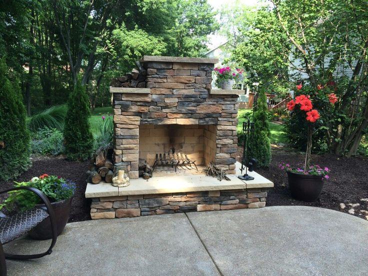 Best 25+ Diy outdoor fireplace ideas on Pinterest ...