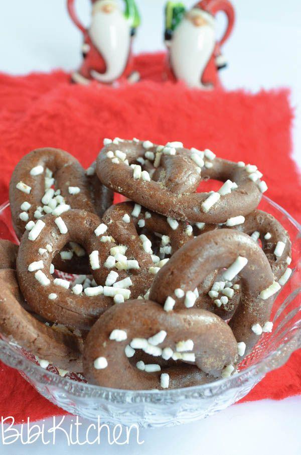 pretzel di cioccolato