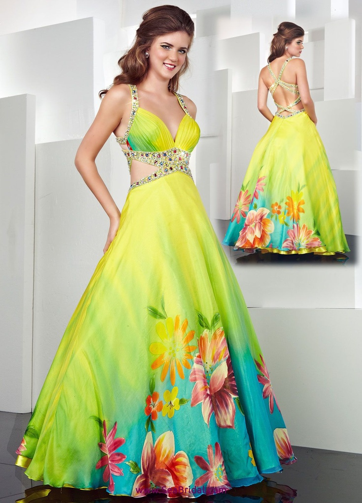 Tropical Formal Dresses | Wedding Gallery