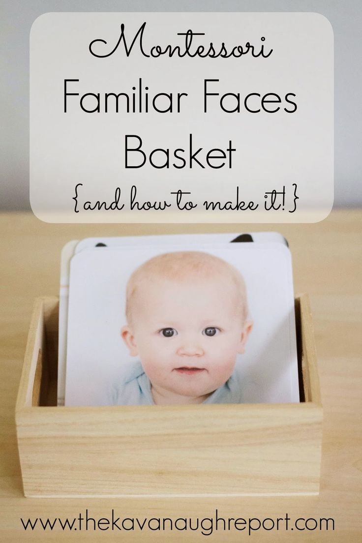 The Kavanaugh Report: Montessori Familiar Faces Basket