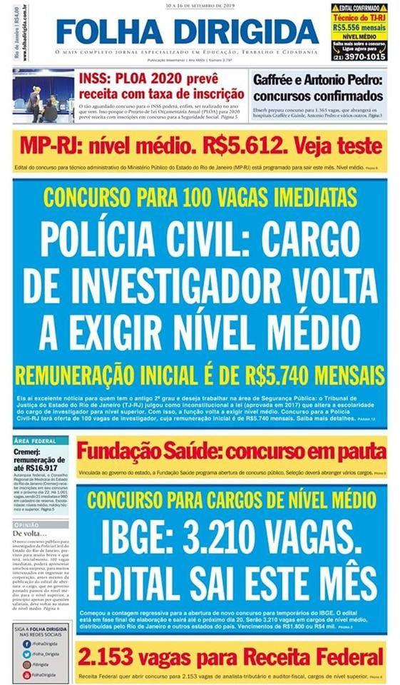 Prof Fabio Madruga Policia Civil Nivel Medio Policia