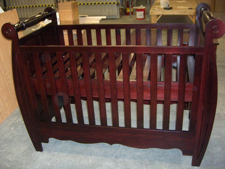 Crib, solid ash. For all my grand children