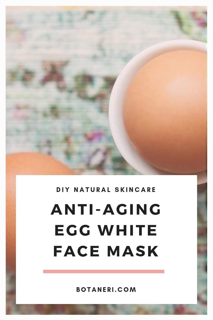 Anti-Aging Egg White Face Mask