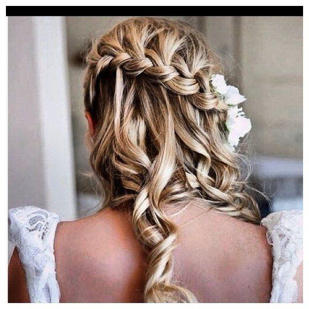 Pin By Lexie Lehman On Wedding Makeup Hair In 2020 Hair Styles Bridemaids Hairstyles Prom Hair