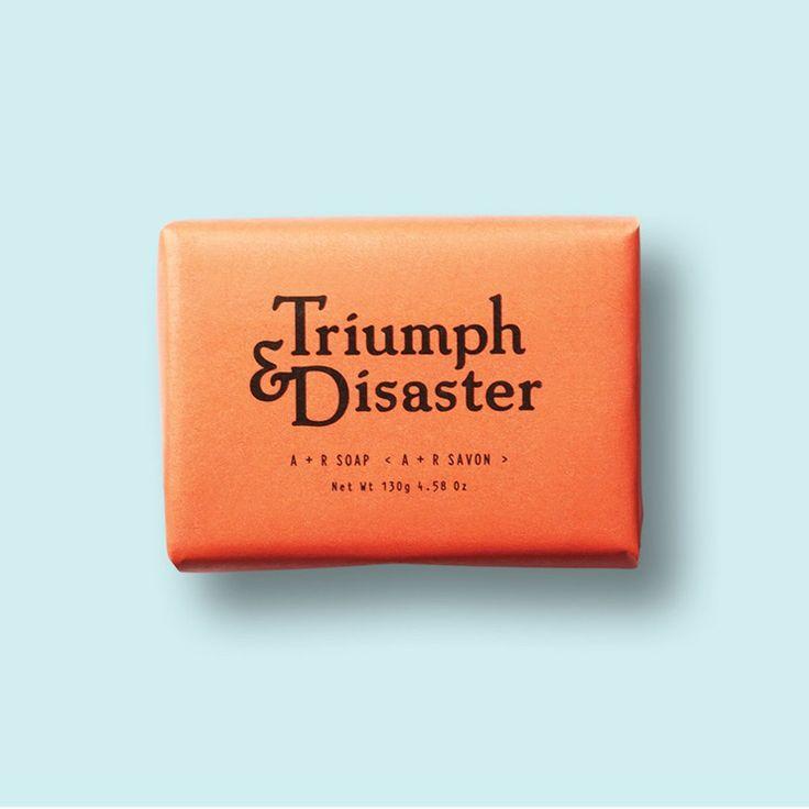 Savon A+R de Triumph & Disaster