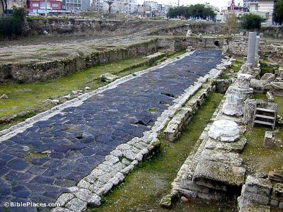 Tarsus, hometown of St. Paul, - Little of Tarsus during the time of Paul has been excavated due to the location of the modern city of Cumhuriyet Alani atop the ruins. Excavations have turned up a paved city street of Tarsus along with a colonnaded podium, which may date to the 2nd century BC.