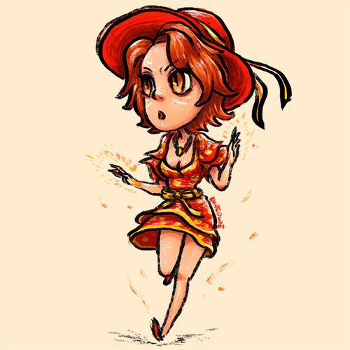 #casualdota For Lina, everyday is a summer day!  Lina likes it hot. But you don't want her temper to get hot too. She can be a little fiery.