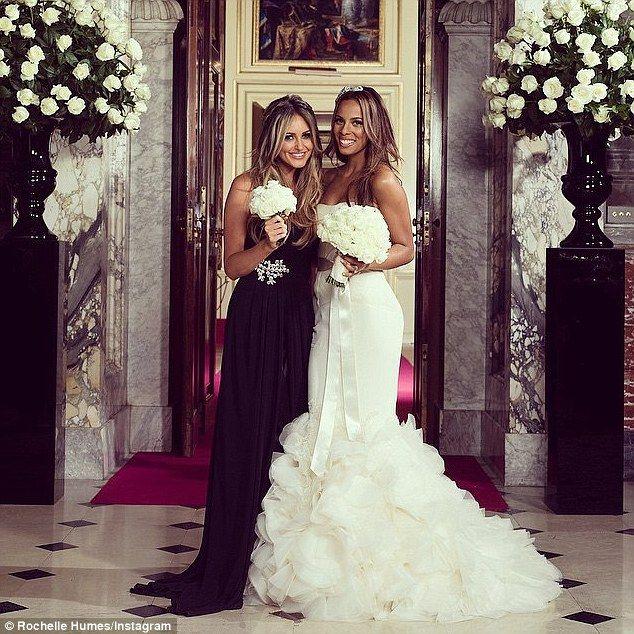 Bridesmaid Rochelle Stuns As Best Friend Georgina Dorsett