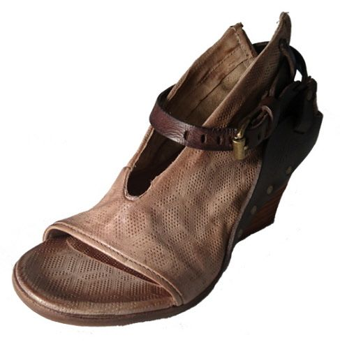 Sandals with wedge, by Italian shoe brand Airstep AS 98