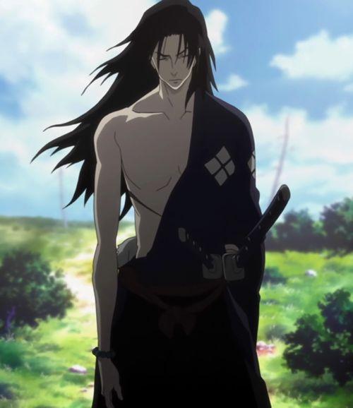 Anime Characters Katana : Best samurai champloo images on pinterest